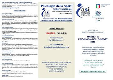 Master in psicologia dello sport 2018