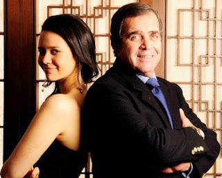 Lucía Oxenford con su padre Marcelo Oxenford