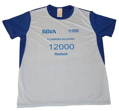 Camiseta Carrera Solidaria BBVA 2011