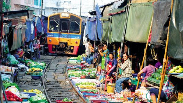 Рынок Romhub в  Таиланде