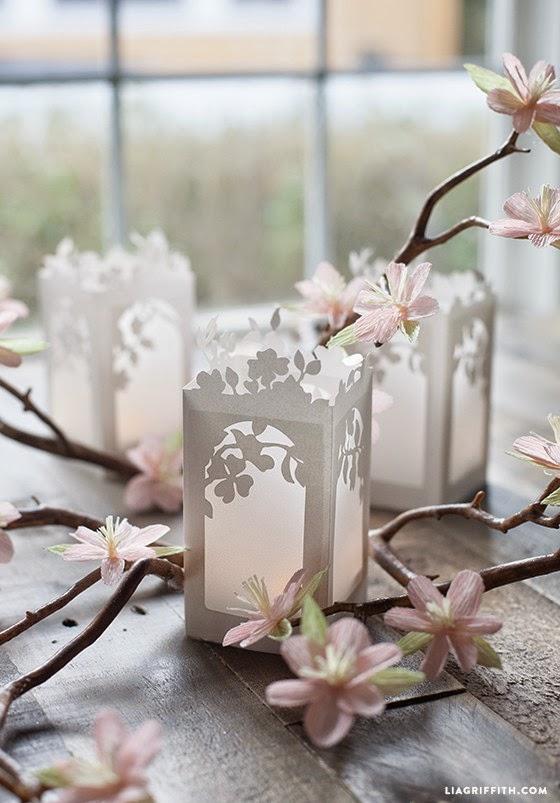 7 tutoriales de farolillos de papel decoraci n for Farolillos para velas