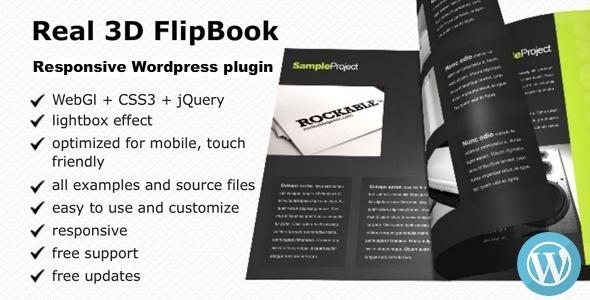 Real 3D FlipBook v2.9.6 – WordPress Plugin