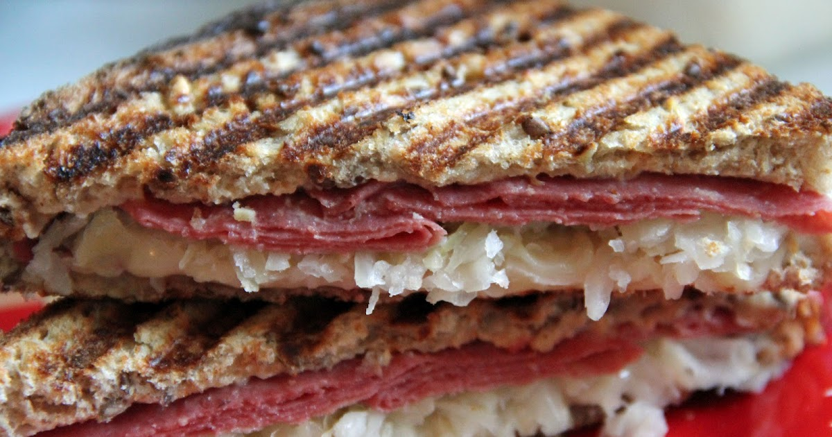 Jo and Sue: Reuben Panini