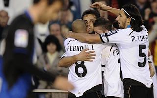 أهداف مباراة فالنسيا و رايو فاييكانو 4-1 في الدوري الاسباني 11-4-2012