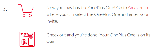 Steps3 for get oneplus-one