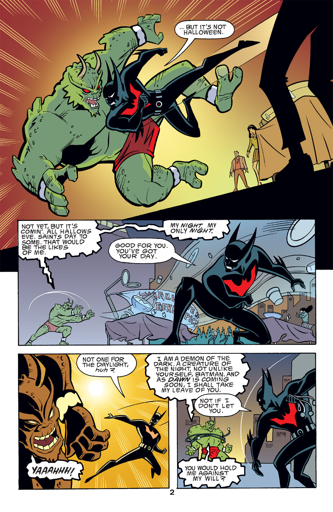 Batman Beyond [II] Issue #14 #14 - English 3