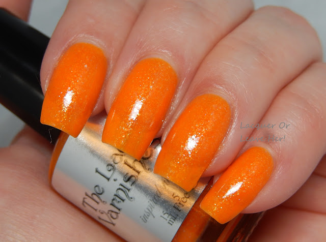 The Lady Varnishes Lala Orange