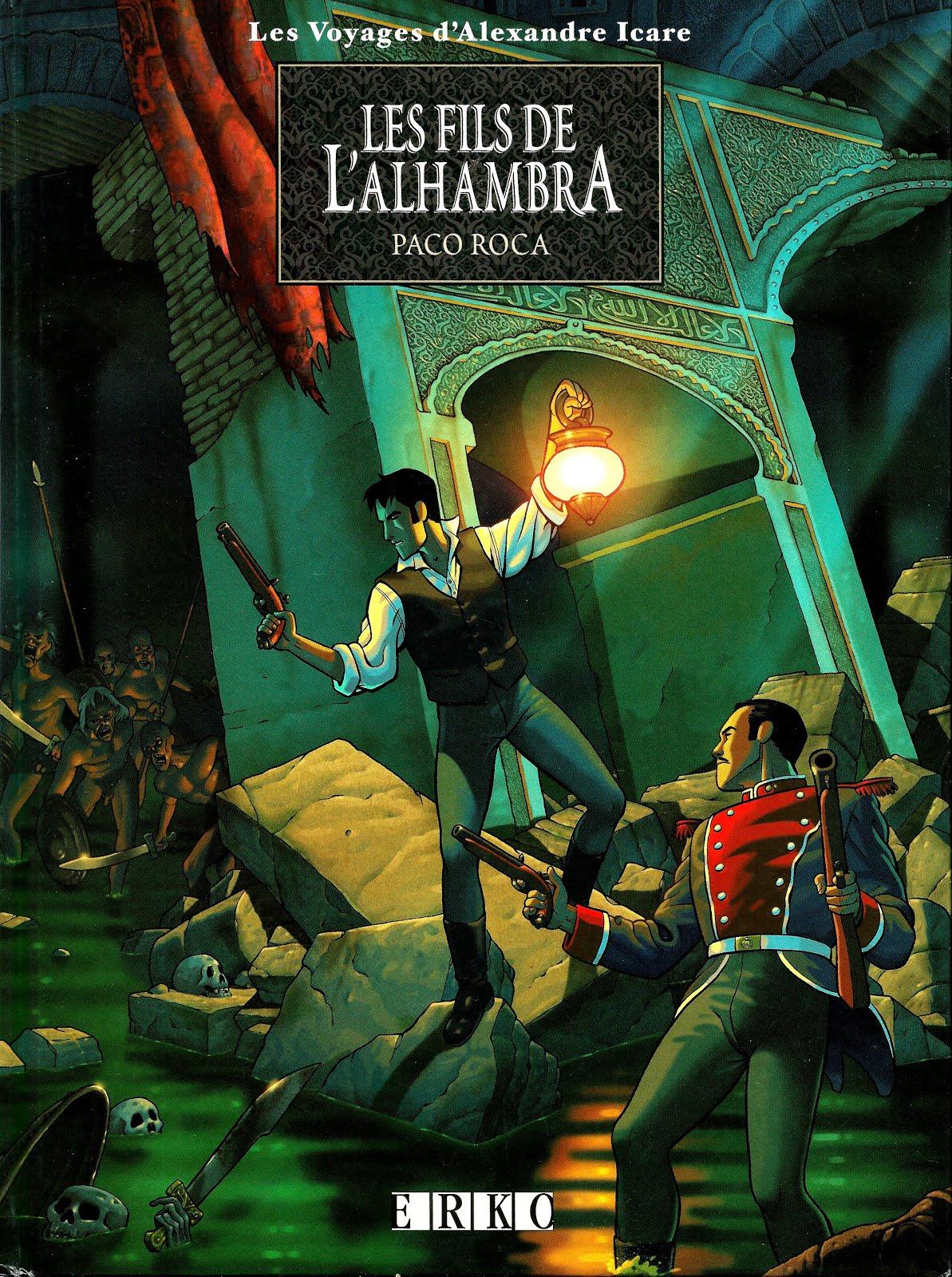 Les fils de l'Alhambra - Paco Roca. Scan: Grenade (inédit)