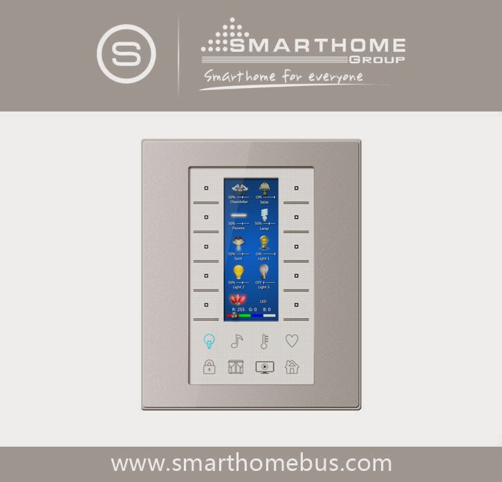 home automation system smart bus g4. Black Bedroom Furniture Sets. Home Design Ideas