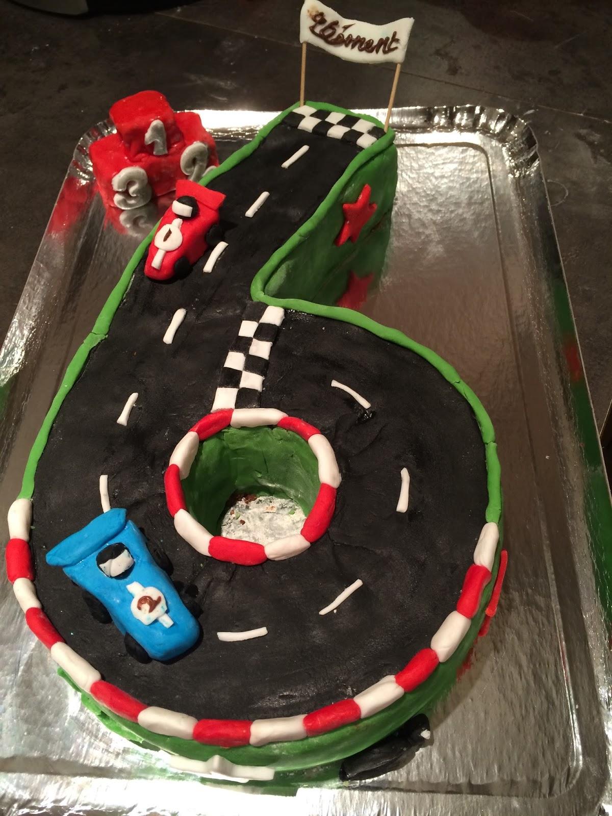 Bevorzugt 2 gars - 2 filles: Gâteau Circuit de voiture - 6 ans de Deuz HC13