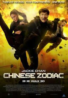 Chinese Zodiac (2012) Hindi Dual Audio Movie 150Mb hevc BRRip