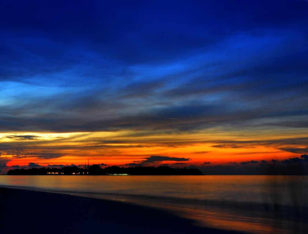 Pôr-do-Sol nas Maldivas