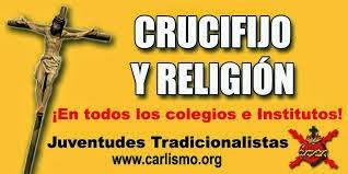 ¡Crucifijo y Religión!