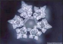 bentuk molekul air