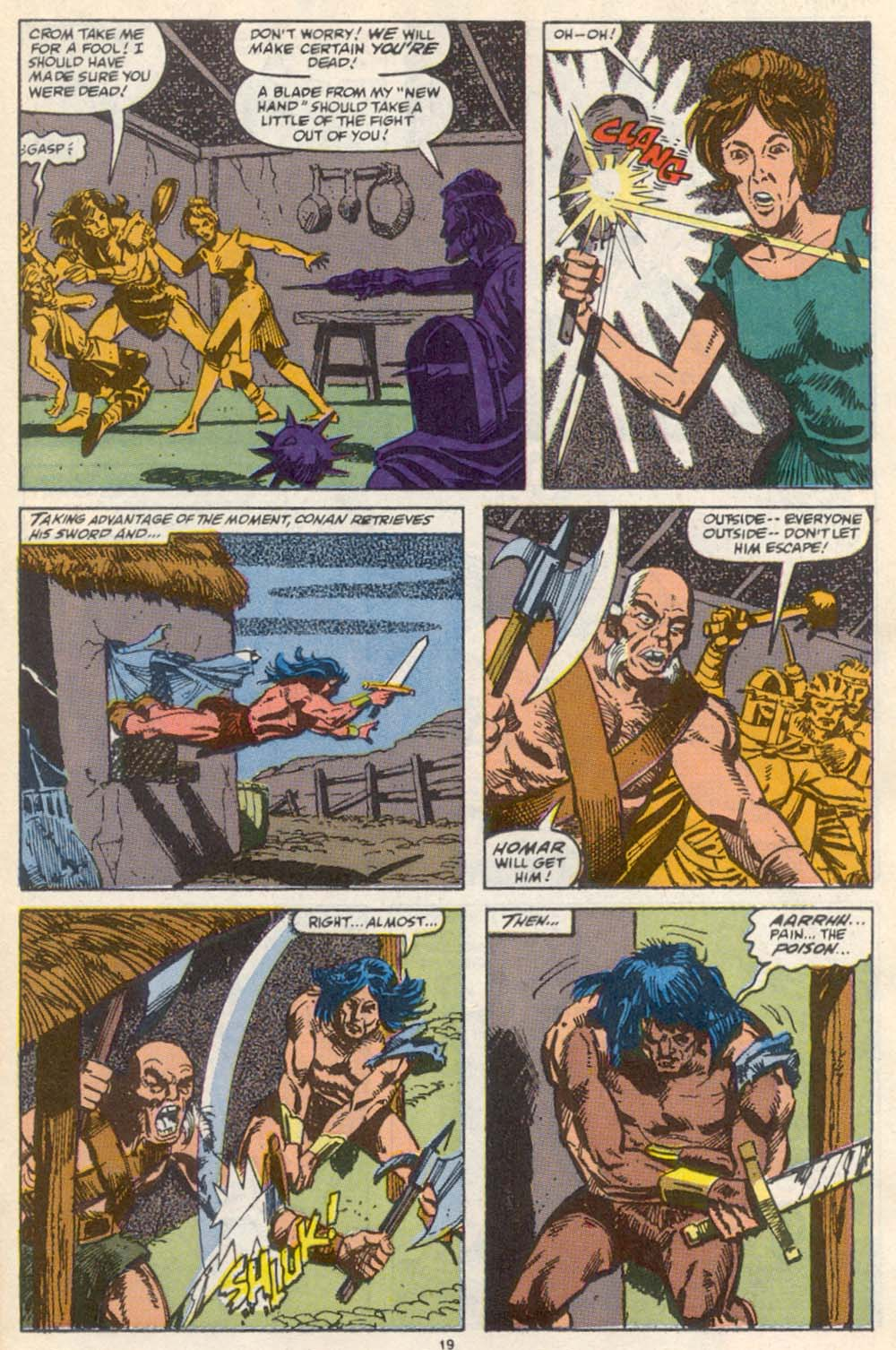 Conan the Barbarian (1970) Issue #222 #234 - English 16