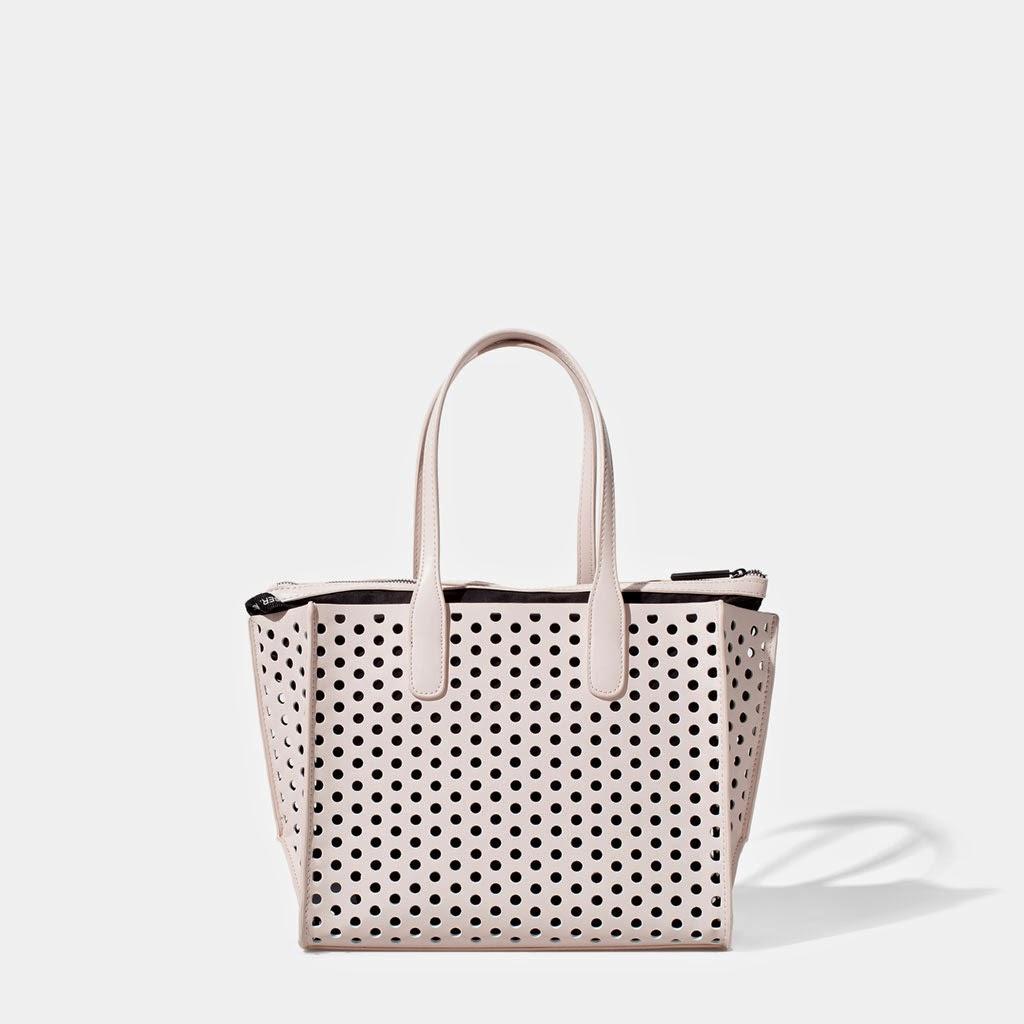 Handväskor Våren 2015 : Fashion zara v?skor v?ska modell