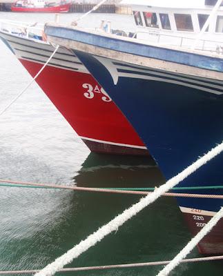 Barcos pesqueros en Santoña