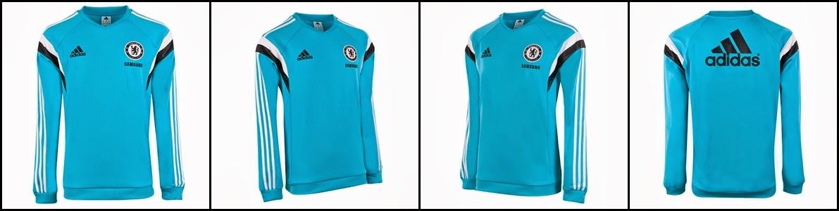 Grosir Jual Sweater Bola Terbaru Musim 2014-2015 Chelsea