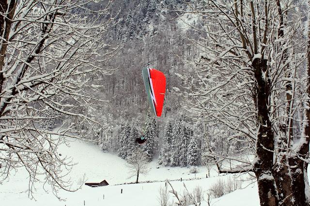 Sporty zimowe w Alpach