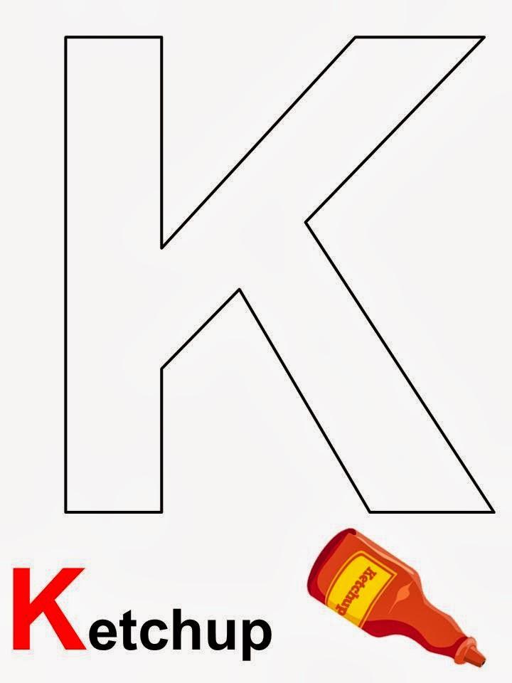 alfabeto Ketchup