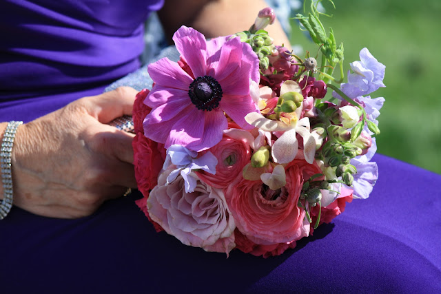 Mother of the Bride Bouquet - Splendid Stems Floral Designs