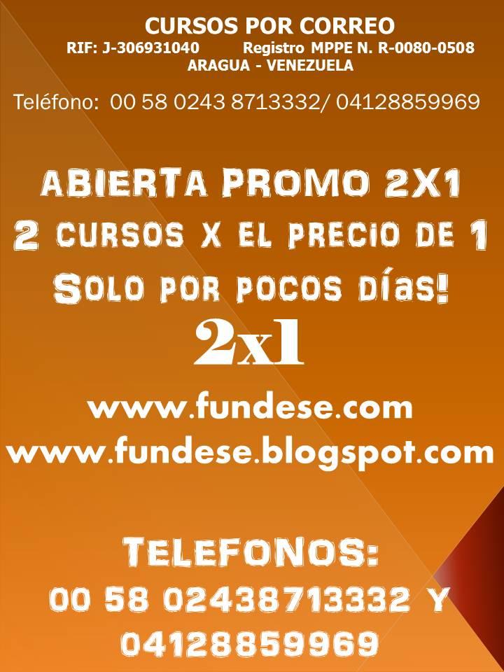 PROMO 2X1 ABIERTA