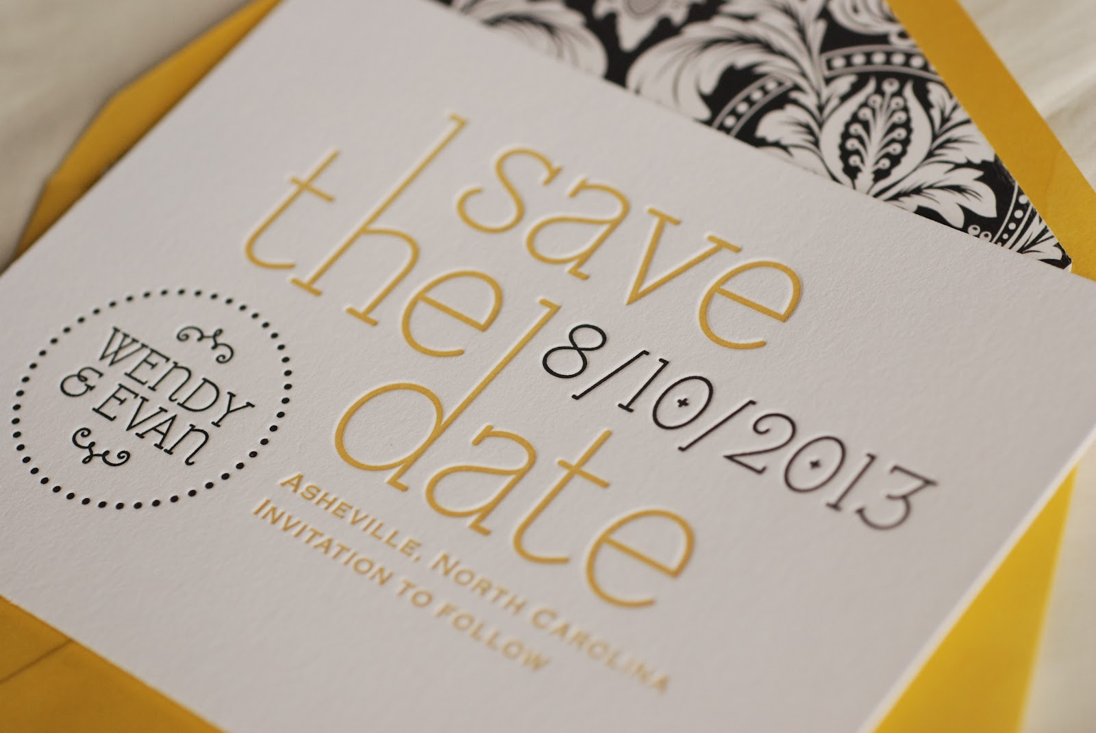 LUSCIOUS VERDE: More really great wedding invitations!