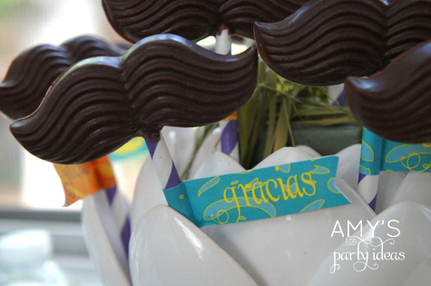mustache candy molds