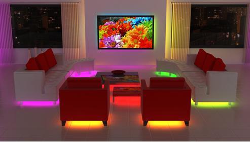 Luces led y la decoraci n taringa - Focos para habitaciones ...