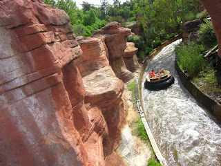 Grand Canyon in Port Aventura