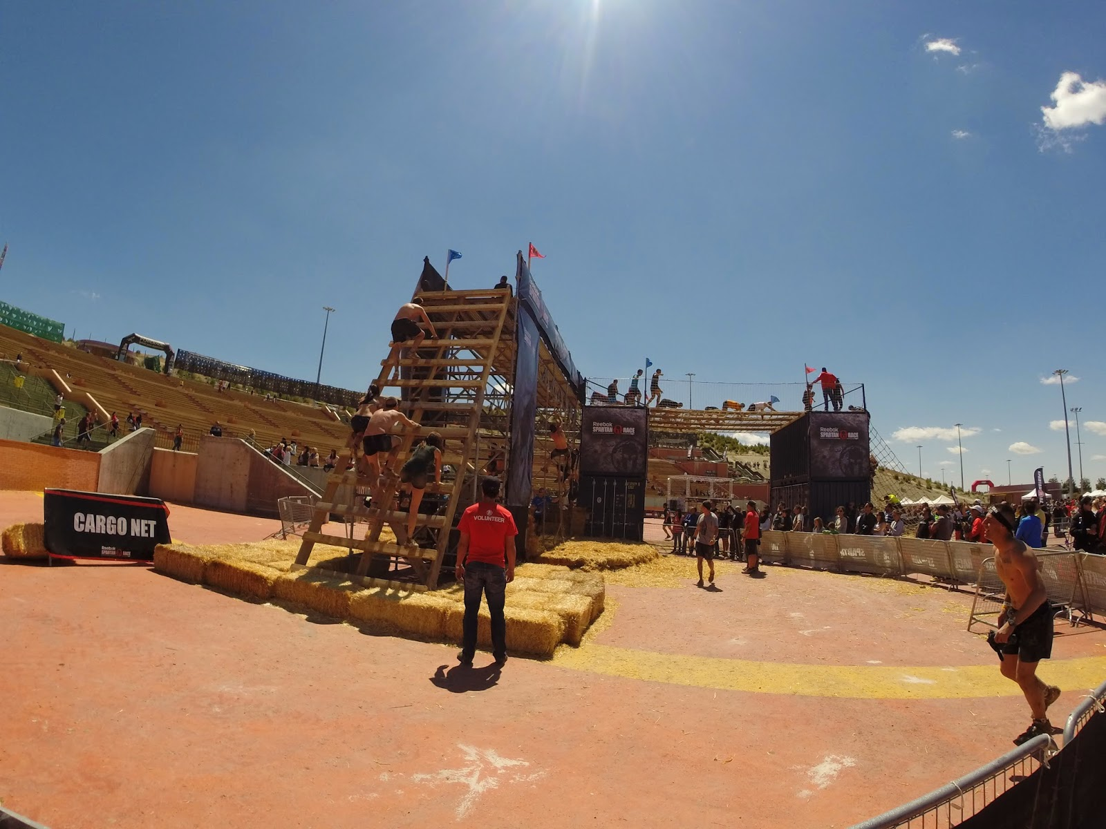 spartan race madrid españa fotos cuerda