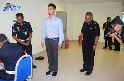 Farid Kamil Jadi Anggota Polis
