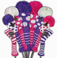 http://www.pinkgolftees.com/ladies-golf-accessories/golf-club-covers.html