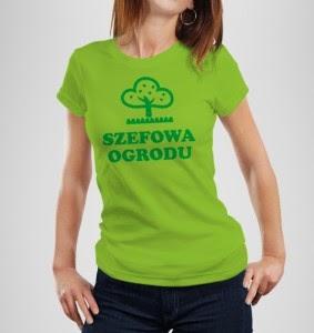 Koszulka dla ogrodniczki
