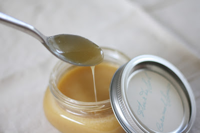 fleur de sel caramel sauce and other handmade holiday gift ideas via www.julieblanner.com