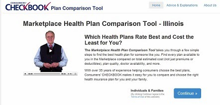 HealthPlanRatings.org home page