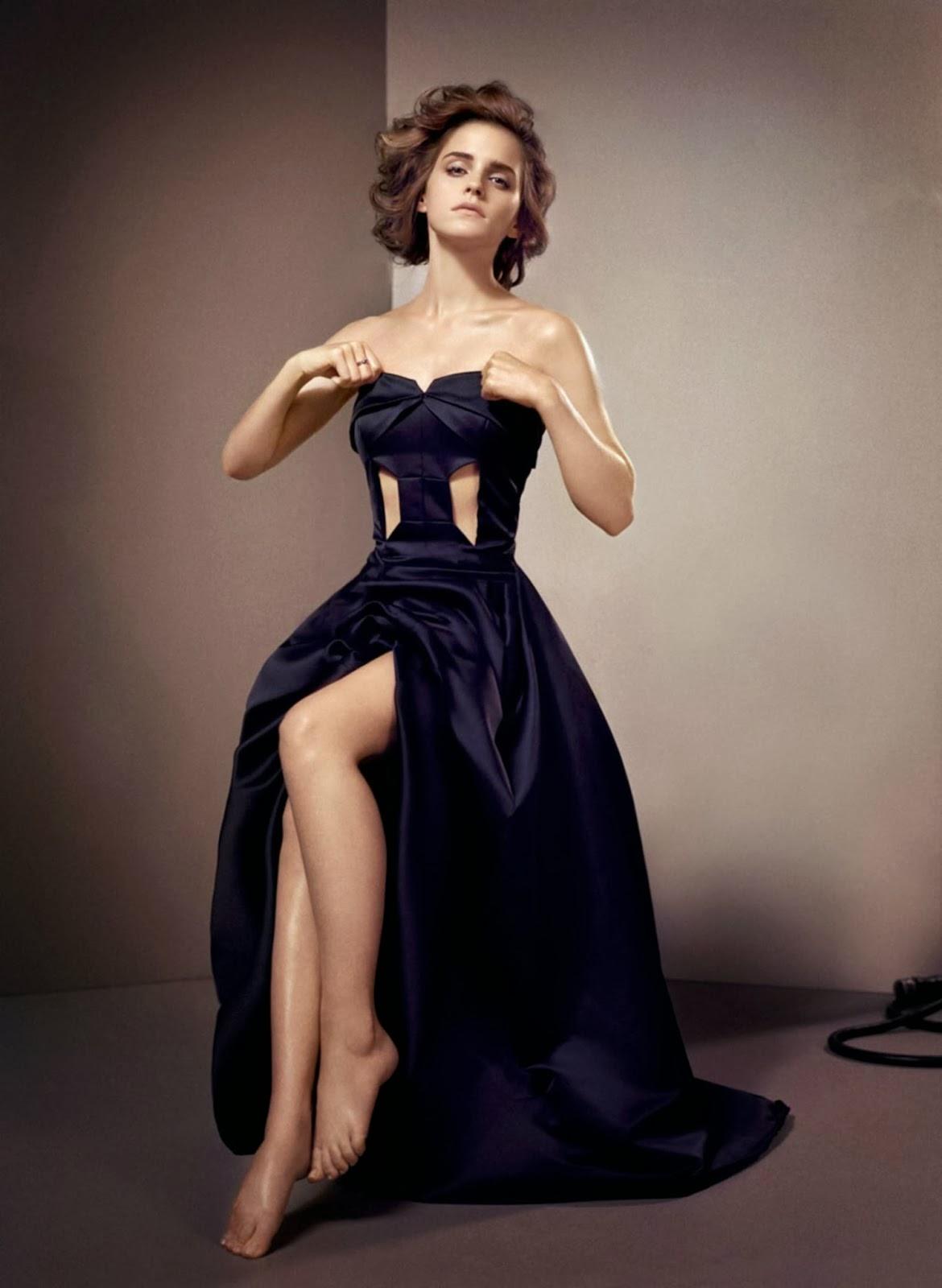 Emma Watson GQ UK Oct 2013 Magazine Hot Photoshoot Stills - Hot Blog ... Emma Watson