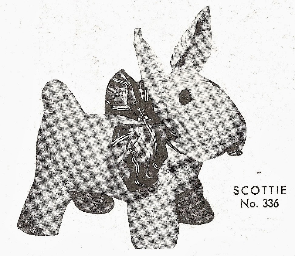 Knitted Tights Pattern : Sentimental Baby: Free Scottie Dog Knitting Pattern Plus Bonus!