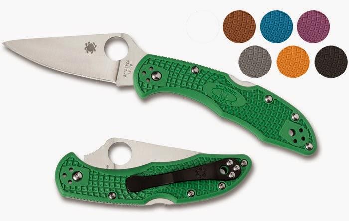 Couteau haut de gamme - Spyderco Delica Flat Ground
