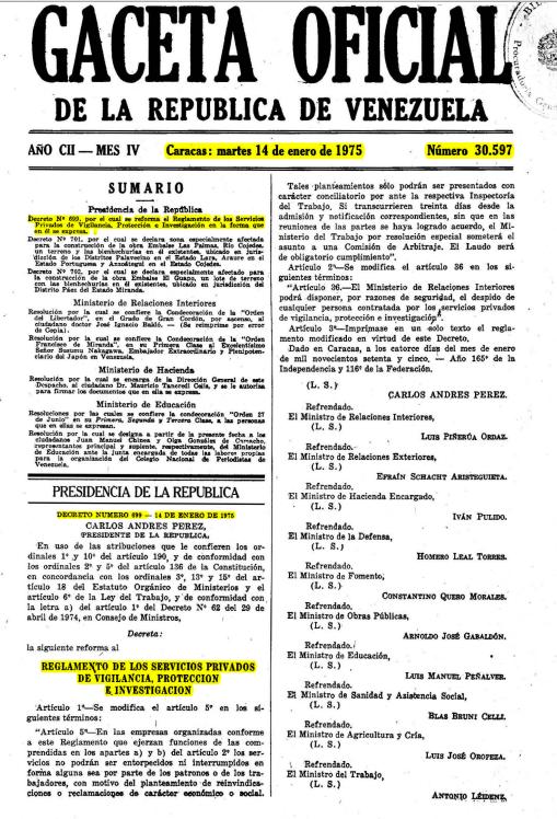 Decreto  699