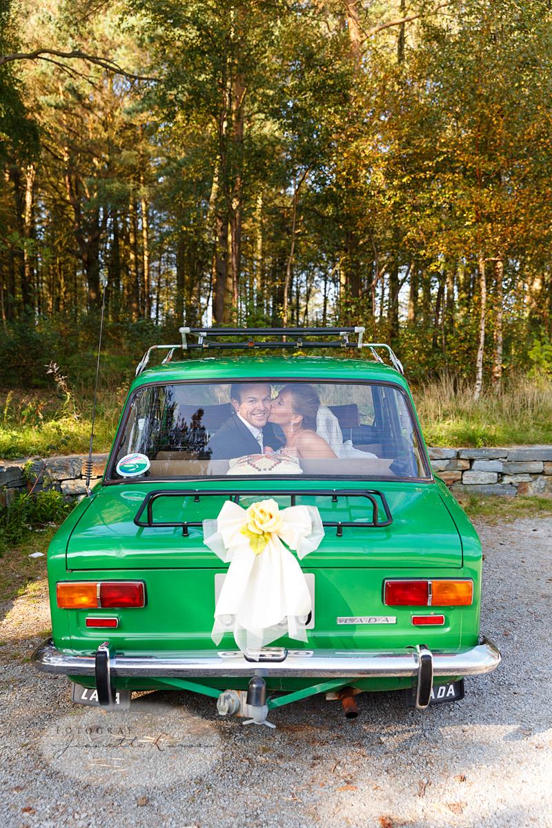 Solaskogen, Lada, bryllup