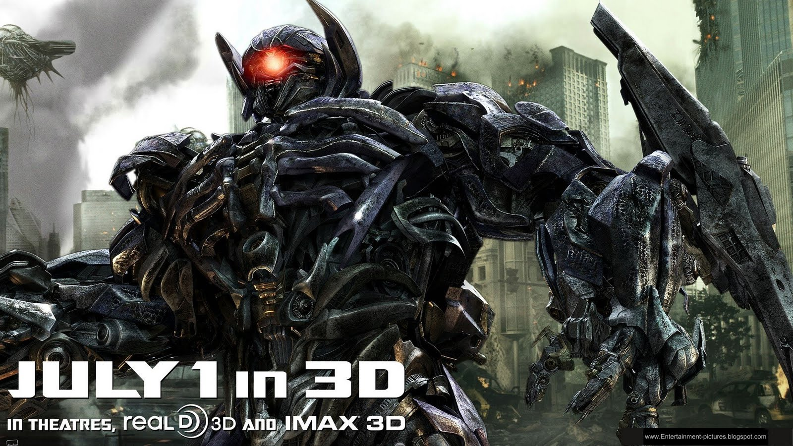 Shockwave in Transformers 3 Dark of the Moon wallpaper  - transformers 3 shockwave wallpapers