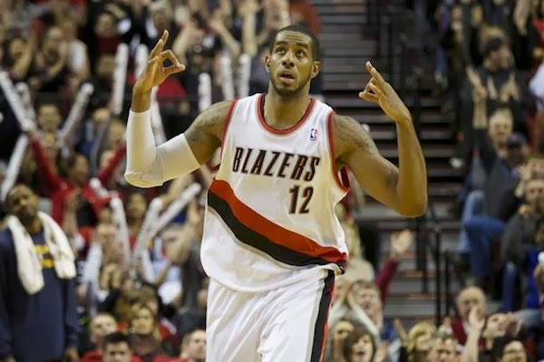 The multi-faceted LaMarcus Aldridge of the Portland Trailblazers has blossomed into s bona fide superstar.