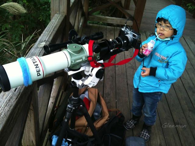 今日使用Pentax 75SDHF 望遠鏡透過XW10mm目鏡擴大