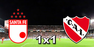 Santa Fé 1x1 Independiente