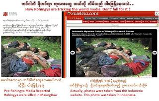konspirasi rohingya