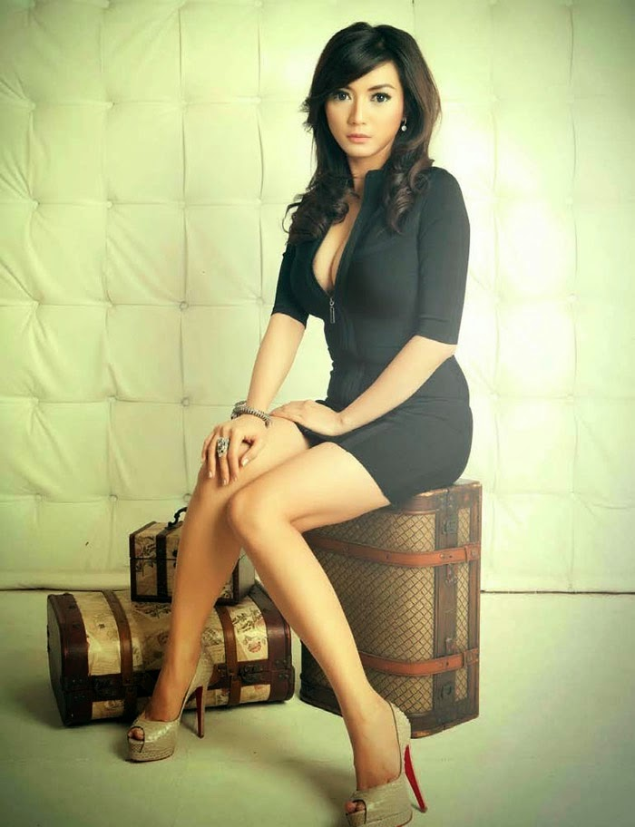 Foto Wiwid Gunawan di Majalah Male