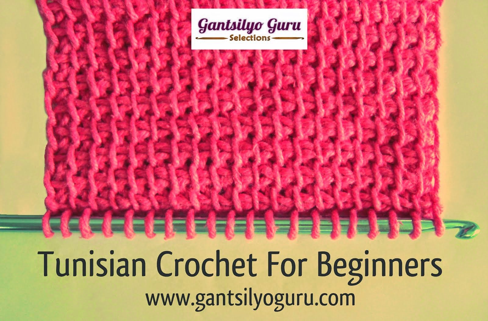 Want To Try Tunisian Crochet?