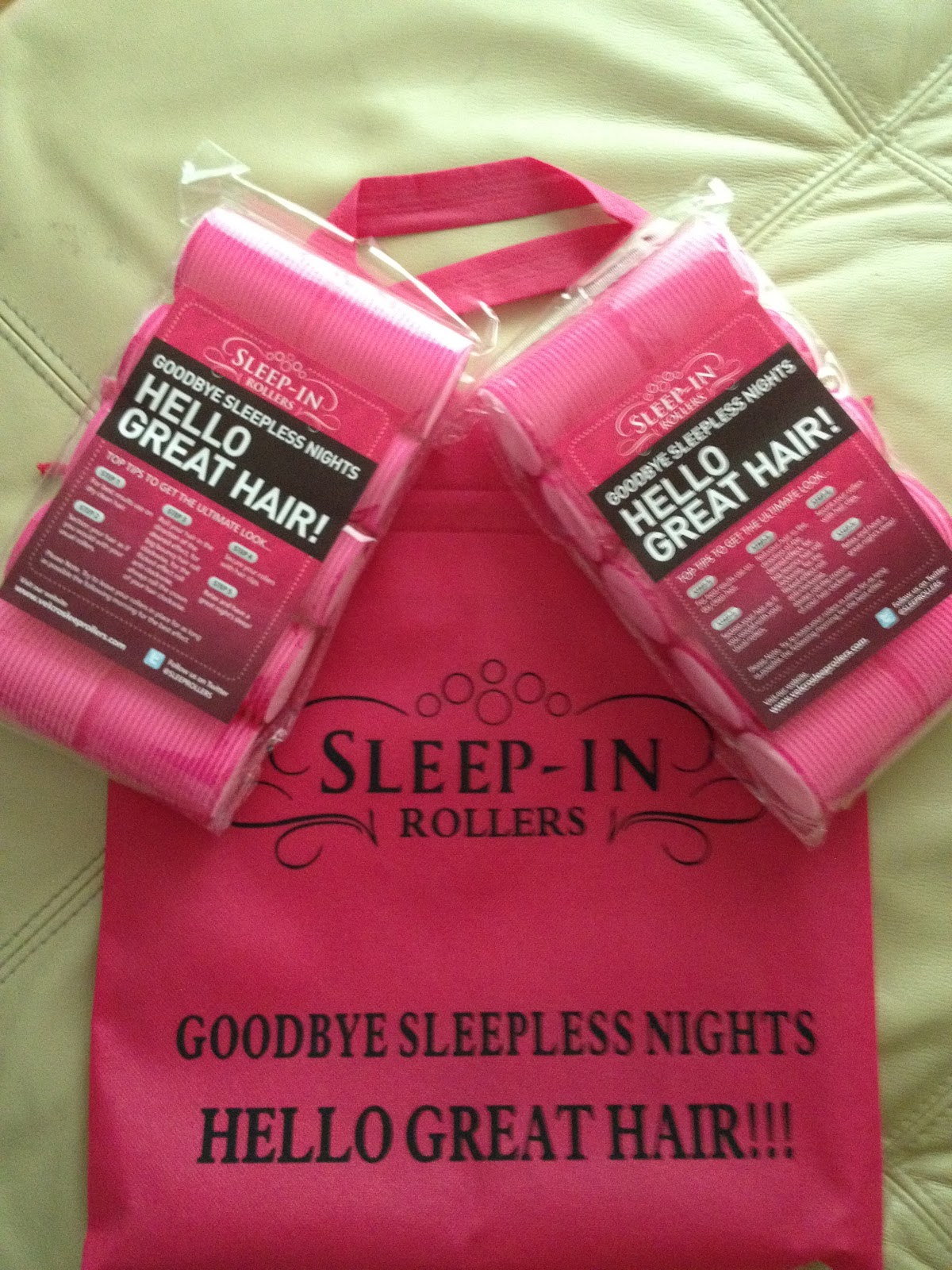sleep in rollers instructions