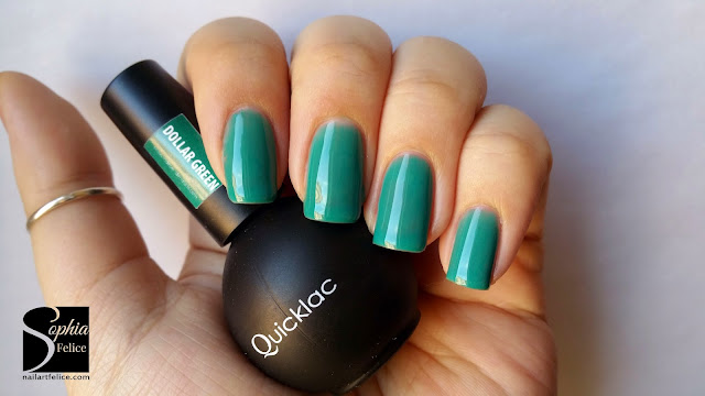 smalto semipermanente quicklac - dollar green